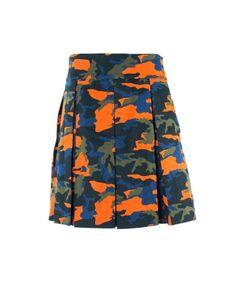 GIVENCHY Givenchy Men's Green Orange Camouflage Kilt Size E52 Us Medium~Rtl$795. #givenchy #cloth #