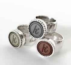 ❤❤❤ Ringen van Kaschka Jewelery!