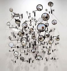 graham caldwell's Sculpture with mirror