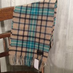 New With Tags Wool Neckscarf