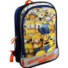 Deable Me Backpack For School On Boys Backpacks Minions