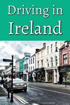 Looking for tips for driving in Ireland? Find useful tips for driving Irish roads, scenic drives and make the most of your Ireland road trip. Driving In Ireland, Best Of Ireland, Ireland Travel Guide, Driving Tips, Ireland Vacation, Emerald Isle, Road Trips, Family Travel, Travel Inspiration