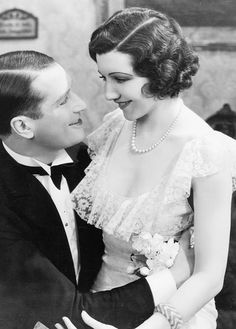 Maurice Chevalier & Claudette Colbert in The Smiling Lieutenant