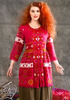 """""""Sirius"""" wool tunic – """"Sirius"""" in wool – GUDRUN SJÖDÉN – Webshop, mail order and boutiques 