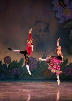 Spanish Dancers, The Nutcracker | Pictured: Damir Emric and Jing Zhang. Photo by Alejandro Gomez.
