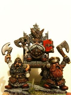Dwaf High King Thorgrim Grudgebearer on the Throne of Power 2