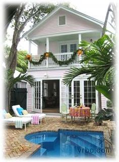 Ashe Splashe--Award-Winning Classic Rental (30-Day Minimum) Private Homes, Old Town, Key West, Florida Vacation Rental by Owner Listing 177438