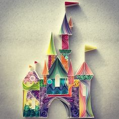 This is for  dreaming!!! This artist creates wordls with paper quilling https://instagram.com/senaruna/