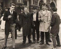 1950s Teddi Boy youth culture - expression through style despite rationing and austerity
