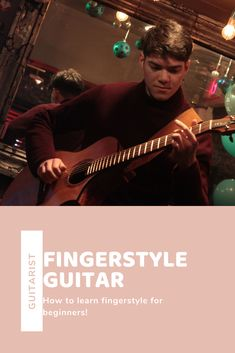 As a beginner, fingerstyle can be quite the challenge, but with this guide it'll be easy! Fingerstyle Guitar, Ukulele Tabs, Cool Electric Guitars, Guitar Lessons, Playing Guitar, Acoustic Guitar, Music Songs, How To Become, Challenge