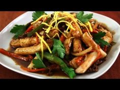 Korean Royal Court Stir Fried Rice Cakes (Gungjungddeokbokki: 궁중떡볶이) Looks so yummy!