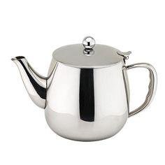 Amazon.com: 1500ML Single Wall Stainless Steel Tea Pot: Home & Kitchen