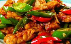 Tips Trik Memasak: aneka olahan tempe Food L, Food Porn, Asian Recipes, Healthy Recipes, Ethnic Recipes, Healthy Food, Malay Food, Indonesian Cuisine, Indonesian Recipes