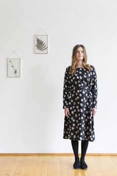 Tove Dress, Bouquet Print