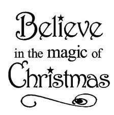Believe in the Magic of Christmas vinyl wall art decals lettering words home decor sayings quote stickers Christmas Card Sayings, Christmas Decals, Christmas Cross, Christmas Signs, All Things Christmas, Christmas Holidays, Christmas Decorations, Magical Christmas, Christmas Phrases