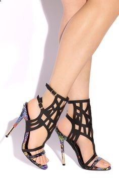 Lola Shoetique - Fierce Scandal - Black, $169.00 (www.lolashoetique...)