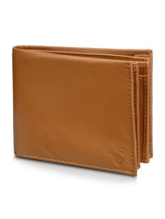 Bi-Fold Honey Brown Wallet  -3Cards Slots  -2 Notes Saction   -A plastic photo and card holder  -Spacious Cash keeping Pocket  This Bi-Fold Wallet has ample of spaces for notes and cards and also an xtra big cash pocket for your change!  Carry Cash without hampering shape and structure.