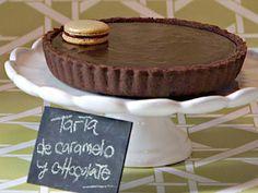 Receta: Mauricio Asta/Tarta de caramelo y chocolate | Recetas | Utilisima.com