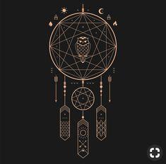 Cool Art Prints Print on Threadless Magic Symbols, Moon Symbols, Tatoo Henna, Geometric Art, Sacred Geometry, Body Art Tattoos, Line Art, Tarot, Cool Art