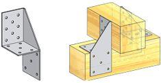 Уголок универсальный Treehouses, Sheet Metal, Anchors, Joinery, Woodworking Tools, Building A House, Diy And Crafts, Construction, Steel