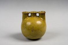 Henri Simmen, vase trilobe, galerie AS Duval