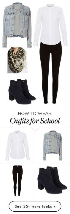"""School outfit"" by adriacowell22 on Polyvore featuring rag & bone, Lareida, MICHAEL Michael Kors and Monsoon"