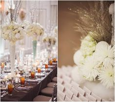 Winter Wedding Ideas. To see more: http://www.modwedding.com/winter-wonderlands-that-give-us-chills-2/