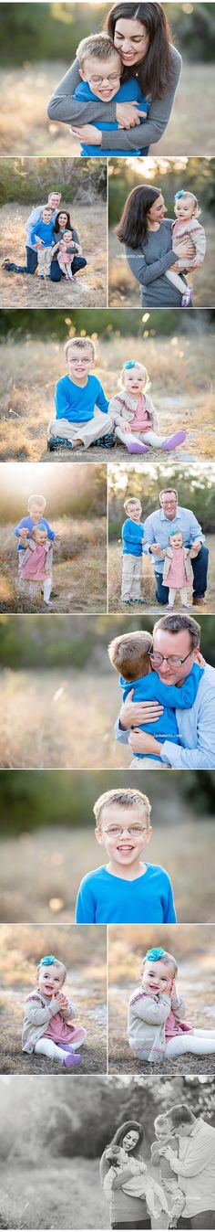 Family portraits are about love. The end!
