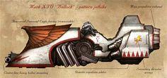 Mk XIV 'Bullock' Pattern Jetbike