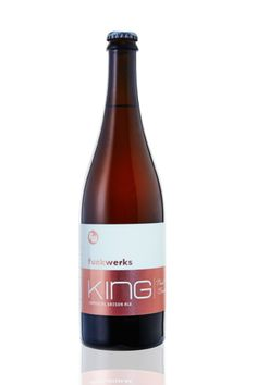 "Barrel-Aged ""Tropic King"" Sour Farmhouse, Funkwerks, Fort Collins, Colorado."