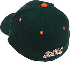 newest 9e5bf 27065 ... coupon code for amazon ncaa miami infant one fit hat university of miami  hat clothing 7a3a0