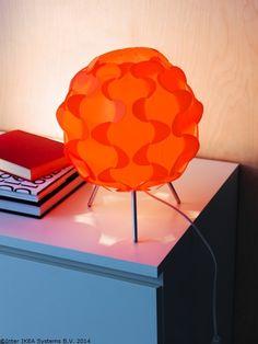 Un dovlecel care luminează. www.IKEA.ro/veioza_FILLSTA