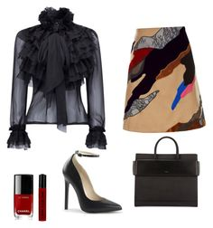 """""""The UNcommon"""" by theuncommondiva on Polyvore featuring Koché, Chanel, NYX and Givenchy"""