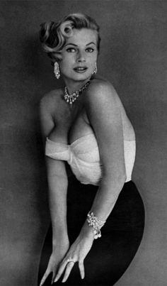 Anita Ekberg because her voluptuous beauty inspired me to live the Dolce Vita