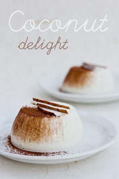 Pudding de coco