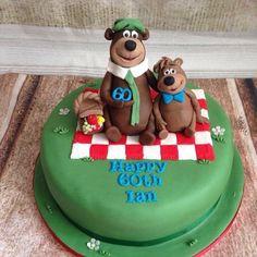 Yogi bear cake - Cake by silversparkle