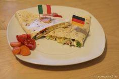 Schnelle Gerichte: Wrap Pizza