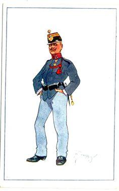 Austria, German Uniforms, Austro Hungarian, Caricature, Empire, Belle Epoque, Army, Nice Asses, Caricatures