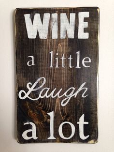 Wine Signs Decor Fascinating More Wine Less White Funny Wooden Wine Decor  Funny Giftss And 2018