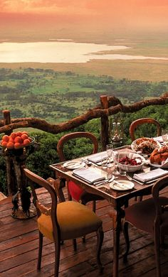 Ngorongoro Crater Lodge, Tanzania African Safari. Bucket List. Add it now. Trust me...you want to go there.