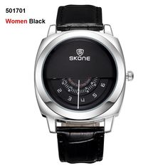 089a29f2a6a Casual SKONE Genuine Men   Women Brand Wristwatches Special design Military  Leather Sports Watch Relogio Masculino - Online Shopping for Watches