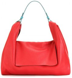 Jil Sander Colorblock Hobo Bag