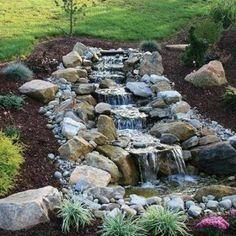 35 Dreamy Garden With Backyard Waterfall Ideas   Water Gardens ...