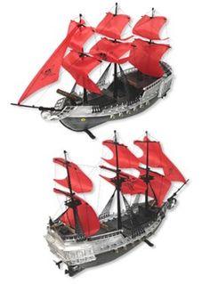 "17"" Rc Pirate Boat"