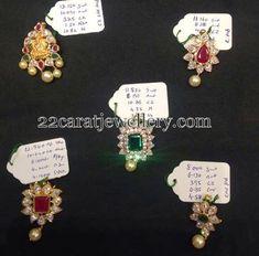Jewellery Designs: Below 10 Grams Pendant for Blackbeads