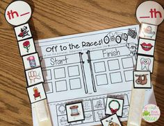 Digraphs sort sticks and printables
