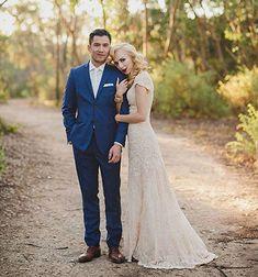 Wedding Suits Australian Bush Wedding by Jessica Sim Bush Wedding, Wedding Groom, Wedding Suits, Wedding Attire, Wedding Dresses, Lace Wedding, Lace Dresses, Bride Groom, Wedding Bouquets