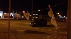 Un bucato alla Fattoria. #nomenomen al parcheggio lato nord del centro commerciale La Fattoria, Rovigo.
