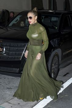 fced61c2d Jennifer Lopez Night Out Style - Miami