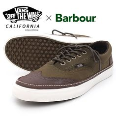 7418e2d15933 VANS (vans) × Barbour (Bubba) California collection ERA WingTip CA (VN